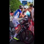 image Bagarre Géniez et Dupont Giro 2016