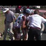 image Chute Jean-Christophe Péraud – Etape 3 Giro 2016
