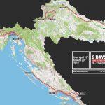 image Profil des étapes et parcours – Tour de croatie 2017