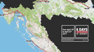 Profil des étapes et parcours – Tour de croatie 2017