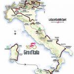 image Parcours tour d'Italie 2017 (Giro) en détail