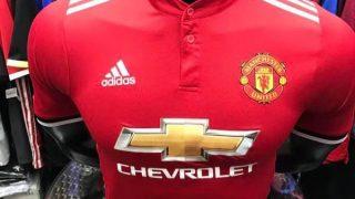 Manchester United dévoilent son nouveau maillot