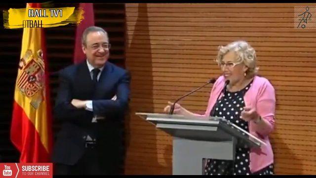 Vidéo | Le maire de Madrid offre des médailles au chocolat à Real Madrid les joueurs