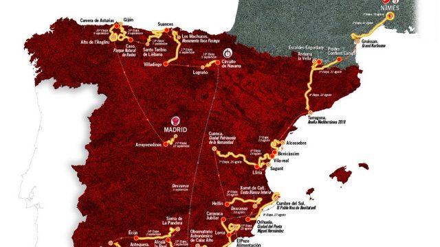 Regarder le Tour d'Espagne (Vuelta 2017) en Direct
