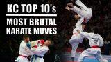 Les 10 coups de pieds les plus spectaculaires au karaté