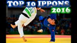 Top 10 des ippons 2016