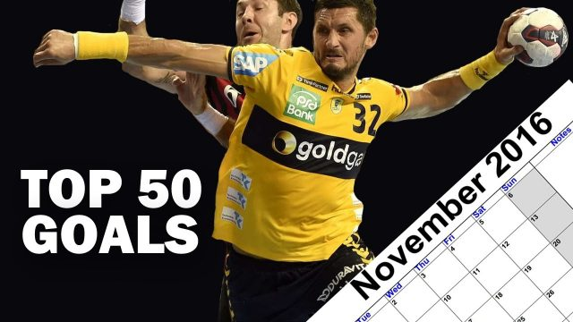 Top 50 des plus beaux but de Handball en 2016