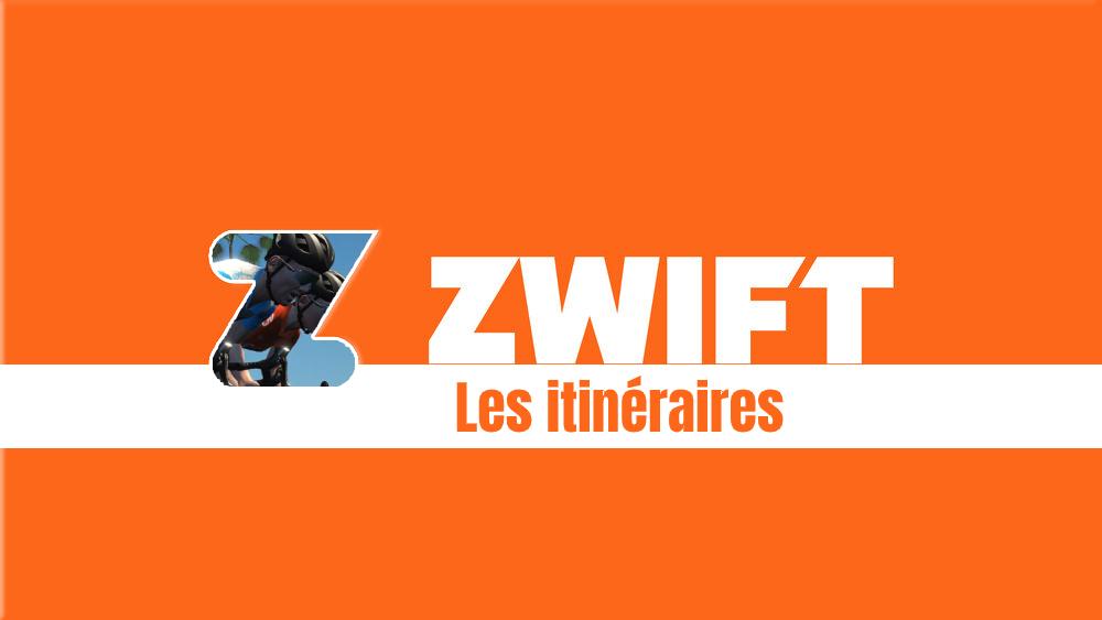 image Zwift – Quels sont tous les itinéraires possibles ?